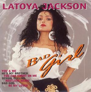 Album  Cover La Toya Jackson - Bad Girl on SLAM MUSIC Records from 1990