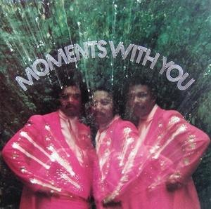 Album  Cover The Moments - Moments With You on STANG Records from 1976