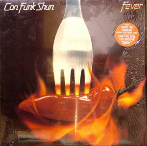 Album  Cover Con Funk Shun - Fever on MERCURY Records from 1983