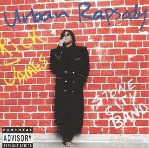 Album  Cover Rick James - Urban Rapsody on PRIVATE I Records from 1997