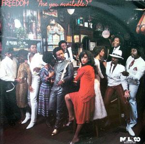 Album  Cover Freedom - Are You Available on MALACO Records from 1984