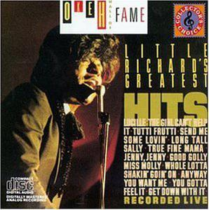 Front Cover Album Little Richard - Greatest Hits Recorded Live
