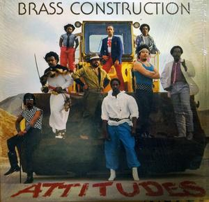 Album  Cover Brass Construction - Attitudes on LIBERTY Records from 1982