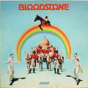 Front Cover Album Bloodstone - Unreal