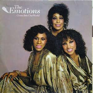 Album  Cover The Emotions - Come Into Our World on ARC Records from 1979