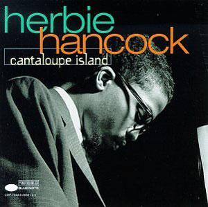 Front Cover Album Herbie Hancock - Canteloupe Island
