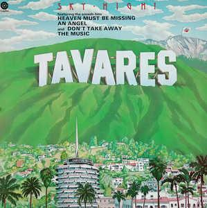 Album  Cover Tavares - Sky-high on CAPITOL Records from 1976