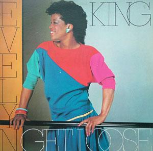 Album  Cover Evelyn 'champagne' King - Get Loose on RCA Records from 1982
