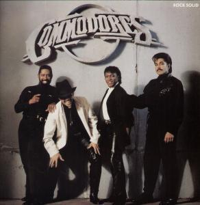 Album  Cover Commodores - Rock Solid on POLYGRAM Records from 1988