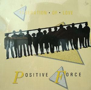 Album  Cover Positive Force - Federation Of Love on LVW ENTERTAINMENT Records from 1987