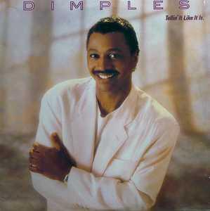 Album  Cover Fields Richard Dimples - Telling It Like It Is on CAPITOL Records from 1987