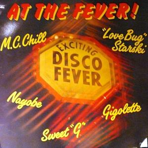 Album  Cover Various Artists - At The Fever! on FEVER Records from 1986