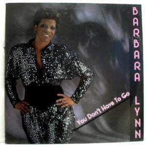 Front Cover Album Barbara Lynn - You Don't Have To Go
