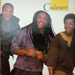 Album  Cover Cashmere - Cashmere on FOURTH & BROADW Records from 1985