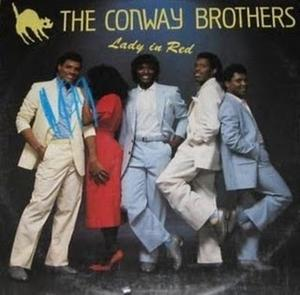 Album  Cover The Conway Brothers - Lady In Red on ICHIBAN Records from 1987