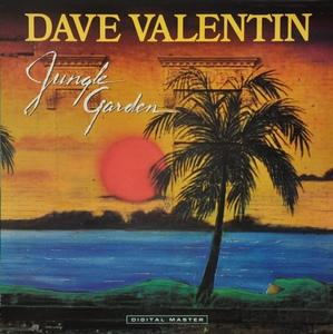 Album  Cover Dave Valentin - Jungle Garden on GRP Records from 1985