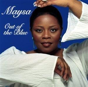 Album  Cover Maysa - Out Of The Blue on N2K Records from 2002