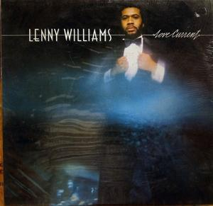 Album  Cover Lenny Williams - Love Current on MCA Records from 1979
