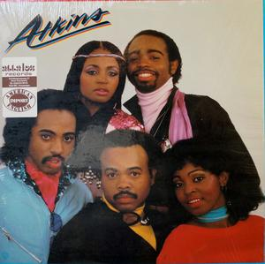 Album  Cover Atkins - Atkins on WARNER BROS. Records from 1982