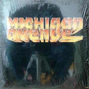 Album  Cover Michigan Avenue - Michigan Avenue on CELLO Records from 1983