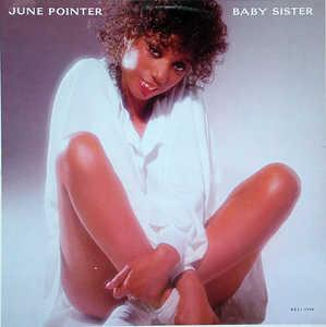 Album  Cover June Pointer - Baby Sister on PLANET Records from 1983