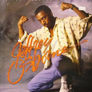 Album  Cover Jeffrey Osborne - Emotional on A&M Records from 1986