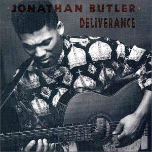 Album  Cover Jonathan Butler - Deliverance on JIVE / NOVUS Records from 1990