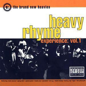 Album  Cover The Brand New Heavies - Heavy Rhyme Experience: Vol. 1 on FFRR Records from 1992
