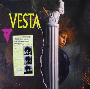 Album  Cover Vesta Williams - Vesta on A&M Records from 1986