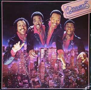 Album  Cover The Dramatics - The Dramatic Way on MCA Records from 1980