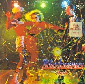 Album  Cover Peter Jacques Band - Fire Night Dance on PRELUDE Records from 1979