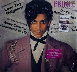 Front Cover Album Prince - Controversy