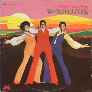 Front Cover Album The Lovelites - With Love From The Lovelites