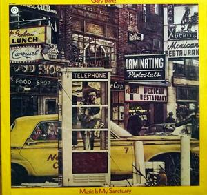 Album  Cover Gary Bartz - Music Is My Sanctuary on CAPITOL Records from 1975