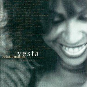 Album  Cover Vesta Williams - Relationships on POLYGRAM Records from 1998