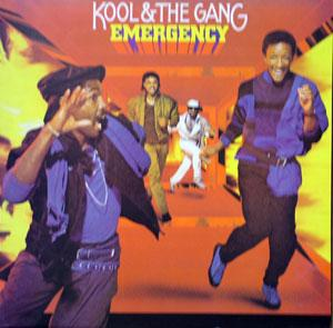 Album  Cover Kool & The Gang - Emergency on DELITE Records from 1985
