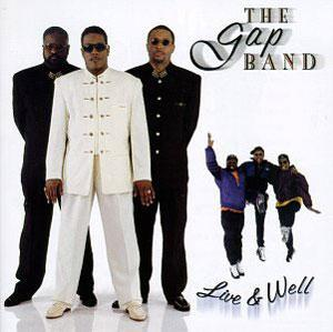 Front Cover Album The Gap Band - Live And Well