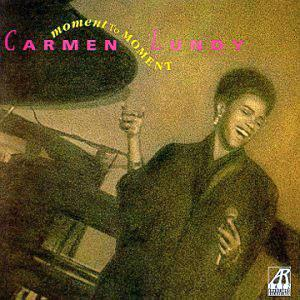 Album  Cover Carmen Lundy - Moment To Moment on ARABESQUE Records from 1991