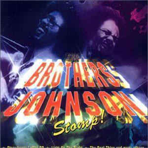 Album  Cover The Brothers Johnson - Stomp on A & M Records from 1984