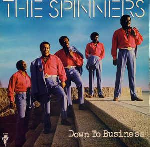 Album  Cover The Spinners - Down To Business on VOLT Records from 1989
