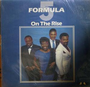 Album  Cover Formula Five - On The Rise on MALACO Records from 1986