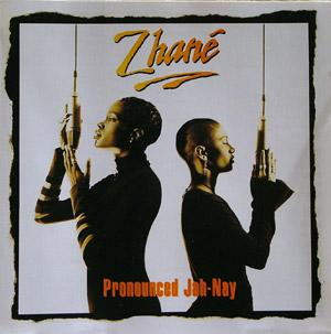 Album  Cover Zhané - Pronounced Jah-nay on MOTOWN Records from 1994