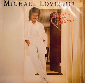 Album  Cover Michael Lovesmith - Rhymes Of Passion on MOTOWN Records from 1985