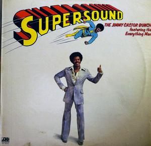 Album  Cover Jimmy Castor Bunch - Supersound on ATLANTIC Records from 1975
