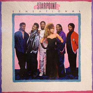 Album  Cover Starpoint - Sensational on ELEKTRA Records from 1987