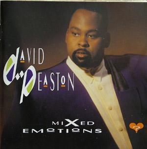 Album  Cover David Peaston - Mixed Emotions on MCA Records from 1991