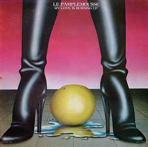Album  Cover Le Pamplemousse - My Love Is Burning Up on AVI Records from 1981