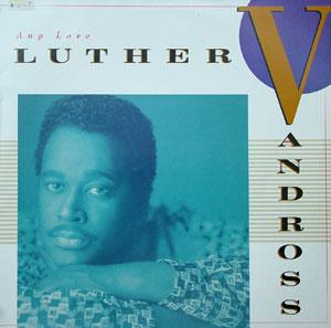 Album  Cover Luther Vandross - Any Love on EPIC Records from 1988