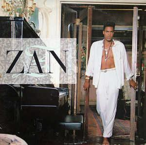 Album  Cover Zan - Zan on WARNER BROS. Records from 1989