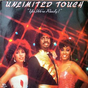Album  Cover Unlimited Touch - Yes, We're Ready on CAPITOL Records from 1983